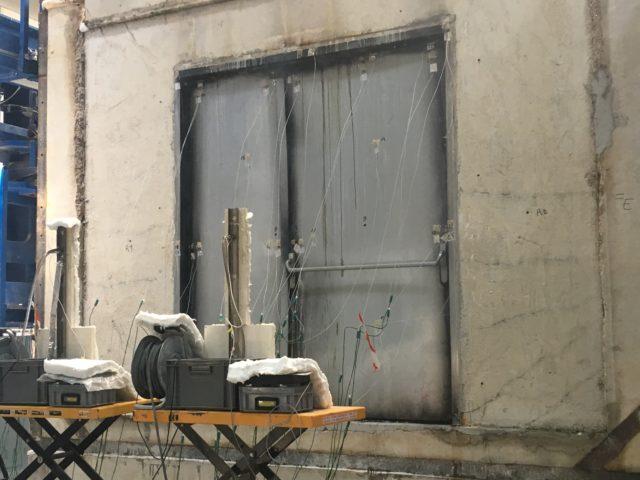Laboratory test - HCM Fire resistance performance