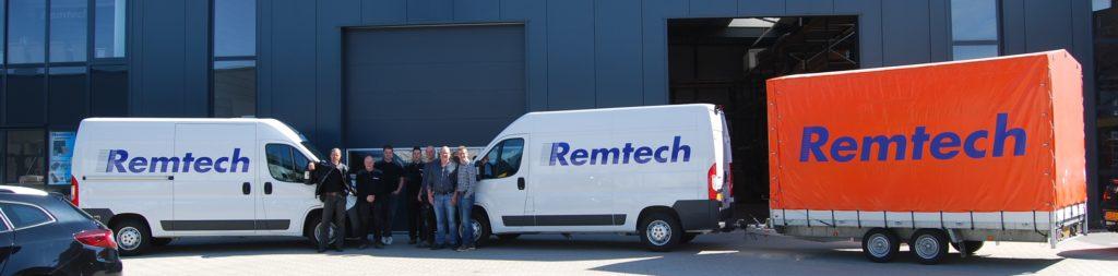 L'équipe de Remtech Nederland