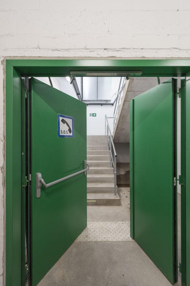 tunnel door HCM anti-panic